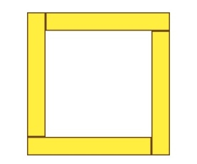square frame layout