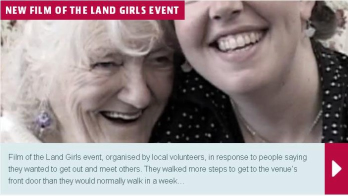land girls event
