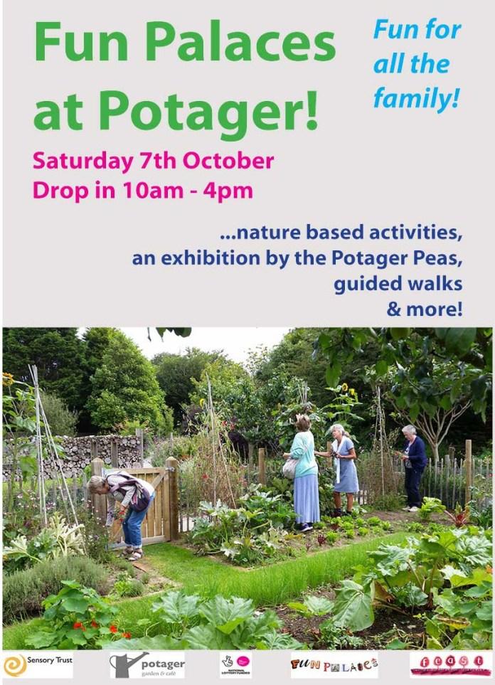 Fun Palaces at Potager gardens poster