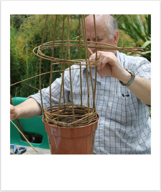 potager weaving